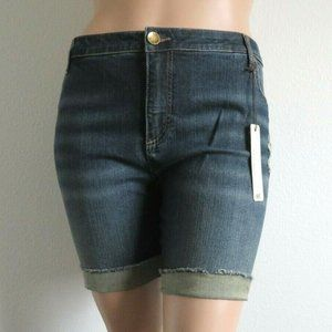 KUT from the KLOTH Jeans Cuffed Ripped Shorts NWT